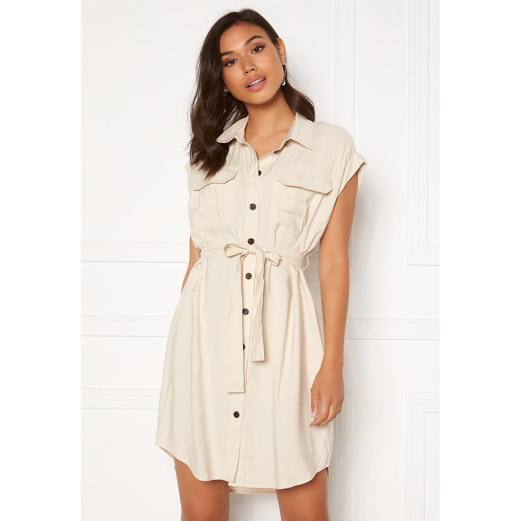 Vero Moda Venus Wide S/L Short Shirt Dress