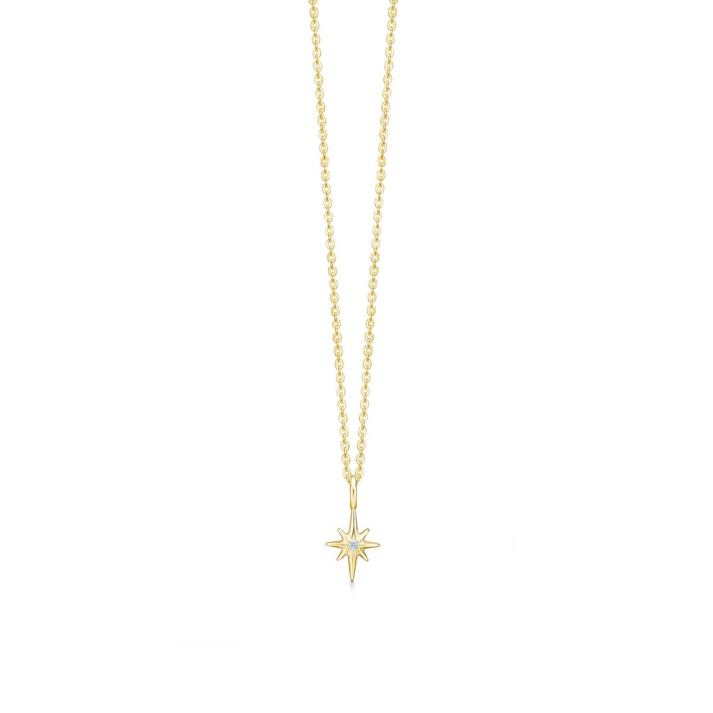ID Fine Small Guiding Star Necklace