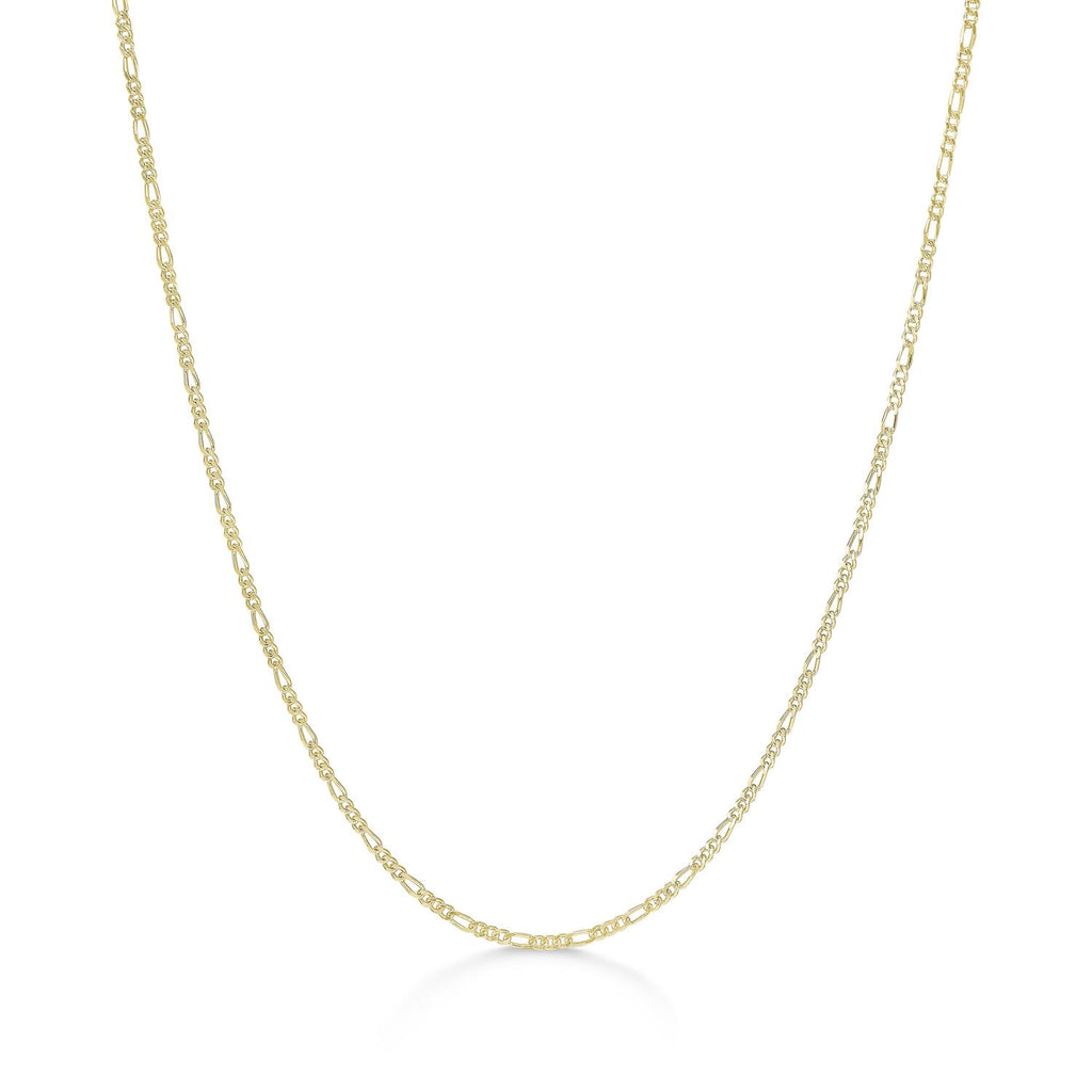 ID Fine Figaro Chain Necklace