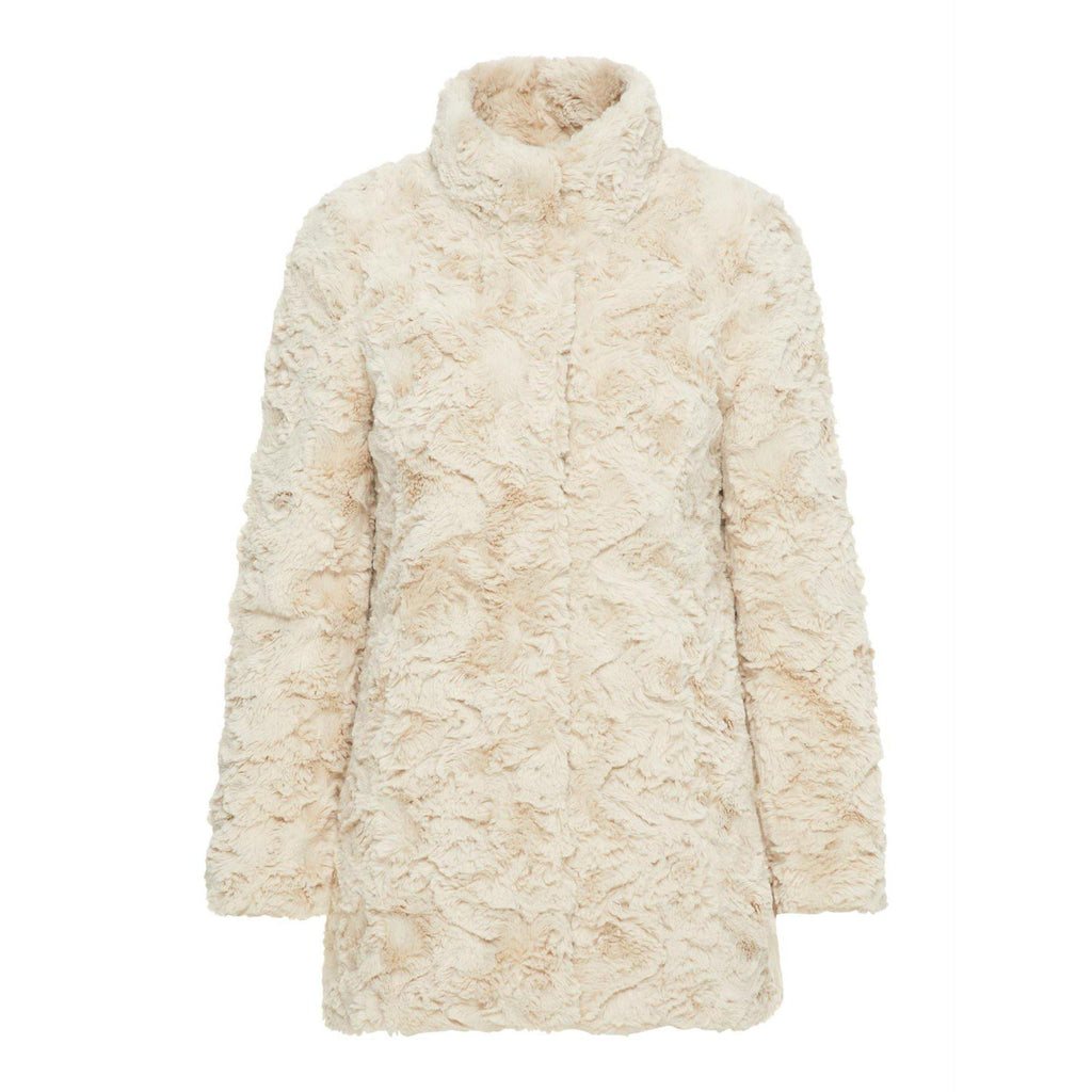 Vero Moda Vmcurl high neck faux fur