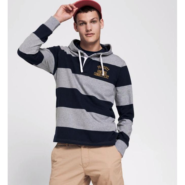 Gant 01. Bar stripe heavy rugger
