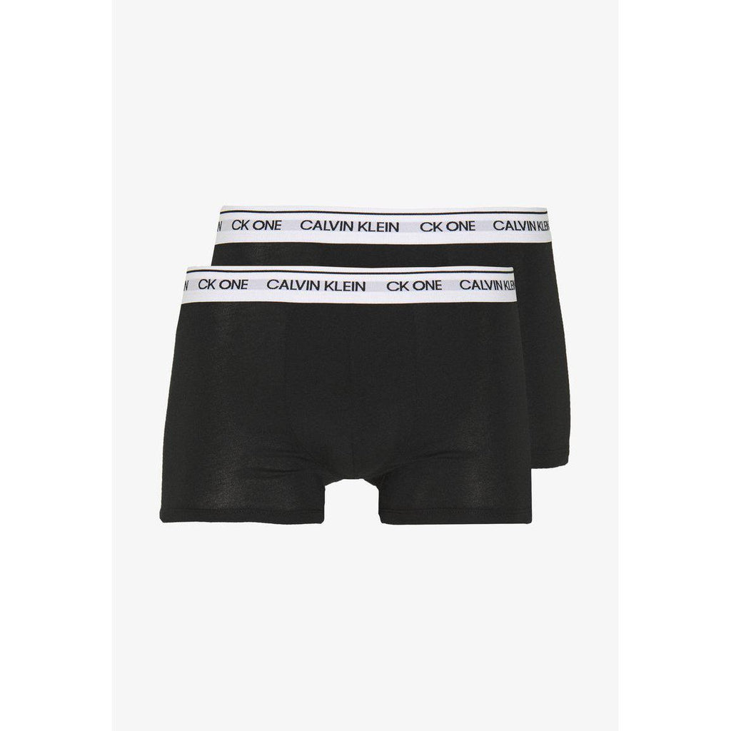 Calvin Klein 2 Pack Trunks Sort Boxershorts Herre