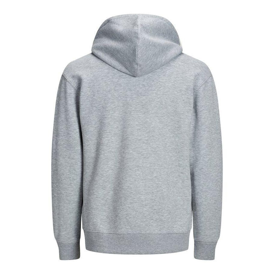 Jack & Jones Soft Sweat Hood Grå Hettegenser Herre