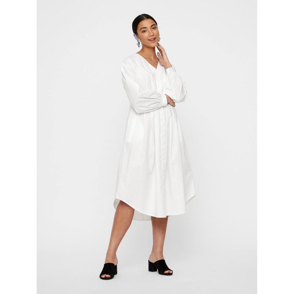Vero Moda Marley Longsleeve Calf Shirt Dress