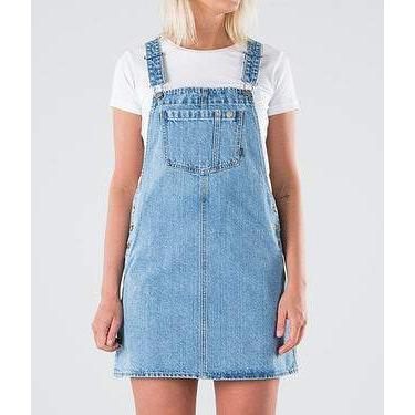 Dr.Denim Eir Dungaree Dress-Kjole-Dr.Denim-XS-kaoz