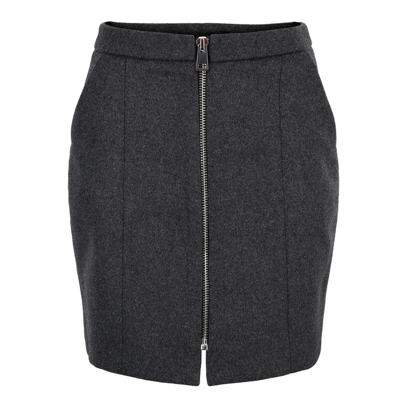 Vero Moda Vmjana hw aw 18 zip short wool skirt