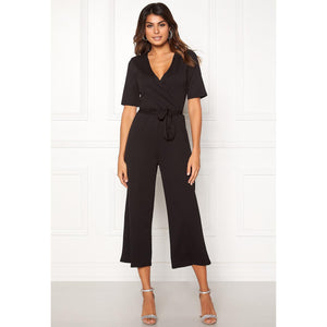Pieces Duna 2/4 Cropped Jumpsuit-Jumpsuit-Pieces-XS-kaoz