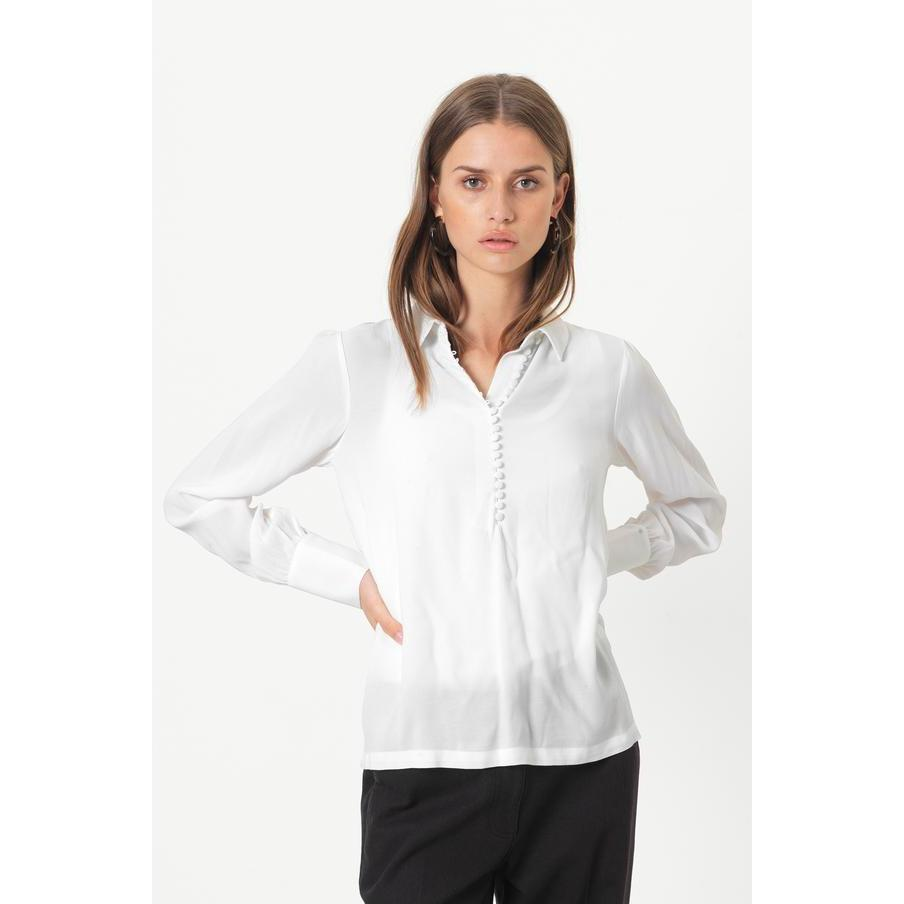 Second Female Ganash Blouse-Skjorte/bluse-Second Female-XS-kaoz