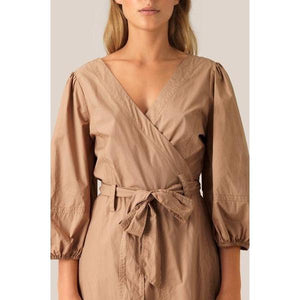 Second Female Phoebe Wrap Dress-Kjole-Second Female-XS-kaoz