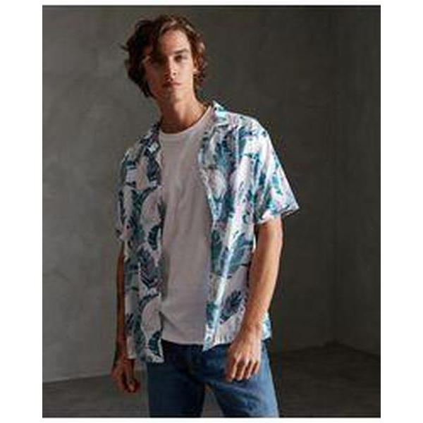 Superdry Hawaiian Box Short Sleeve Shirt-Skjorte-Superdry-S-kaoz