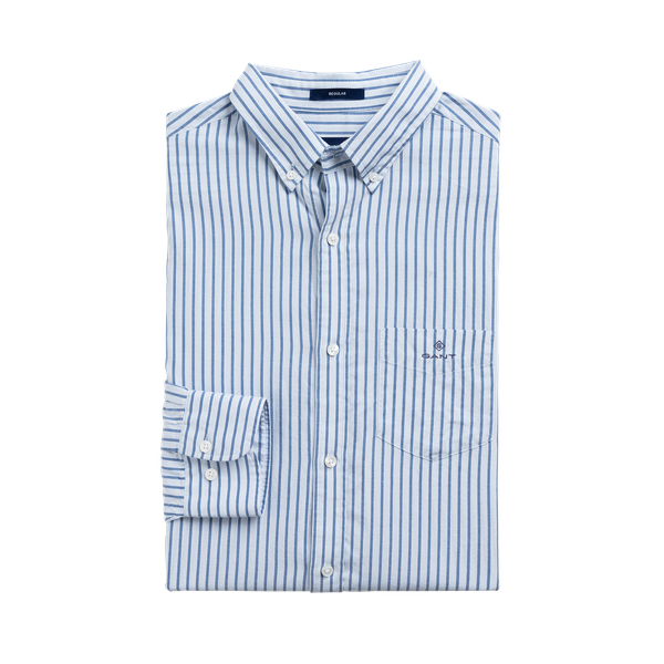 Windblown Oxford Stripe-Skjorte-Gant-M-kaoz