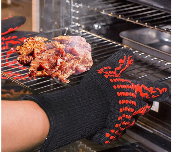Grill Gloves BBQ Gloves Heat Flame Resistant Gloves For Men and Women