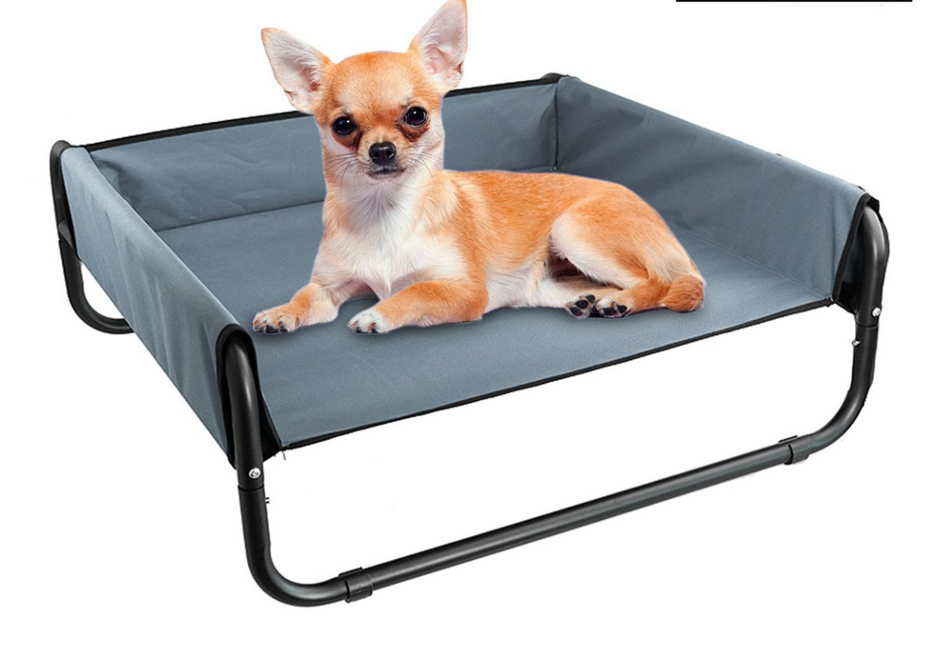 Elevated Dog Bed Dog Cot Bed With Sides Folding Pet Cot
