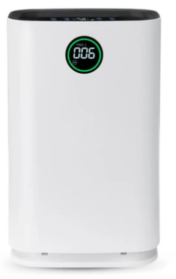 Large Home or Office Air Purifier With True HEPA Filter and Humidification
