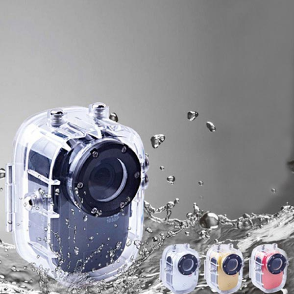 Waterproof Splash Action 1080P Helmet Camera