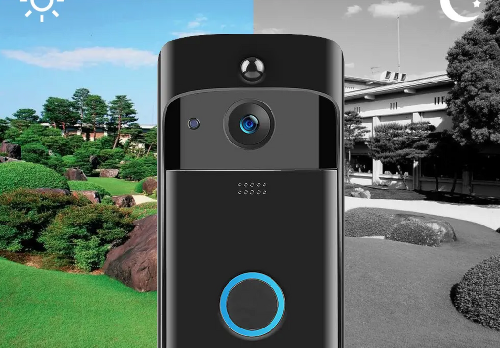 high definition camera for both day and night vision for remote doorbell camera