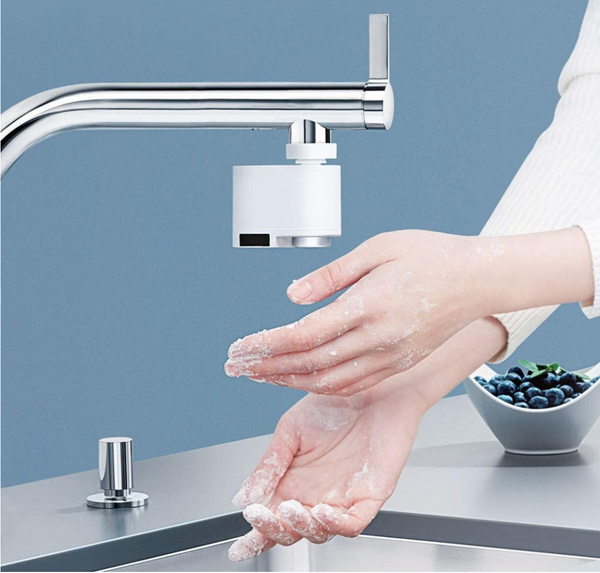 Touchless Motion Sensor Automatic Faucet Device For Kitchen Bathroom Utility Laundry Sink