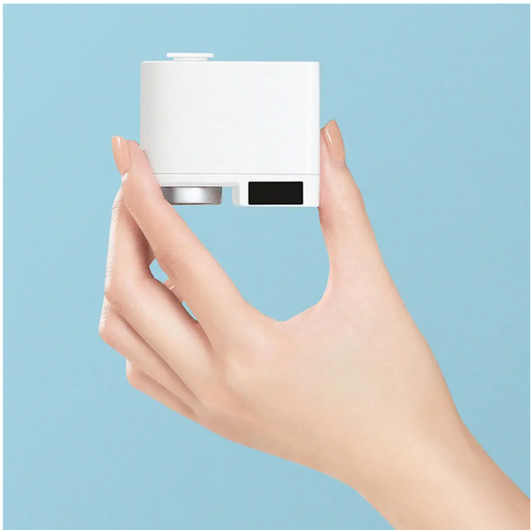 Sensor Faucet Device Size Women Holding In Fingers