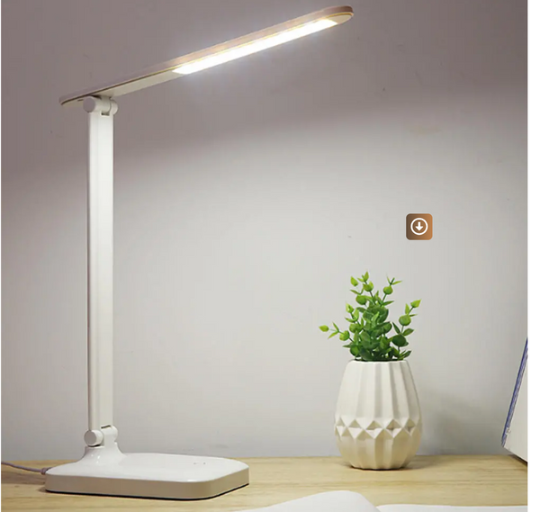 LED Touch Lamp Desk Light Showing Size Of The  Light