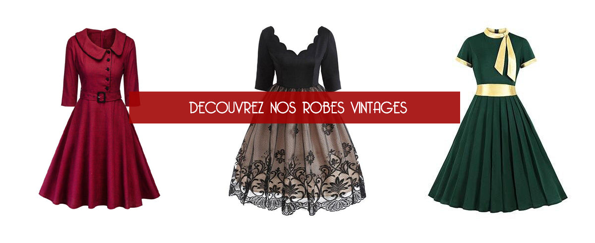 Collection de robes vintage pin up girl