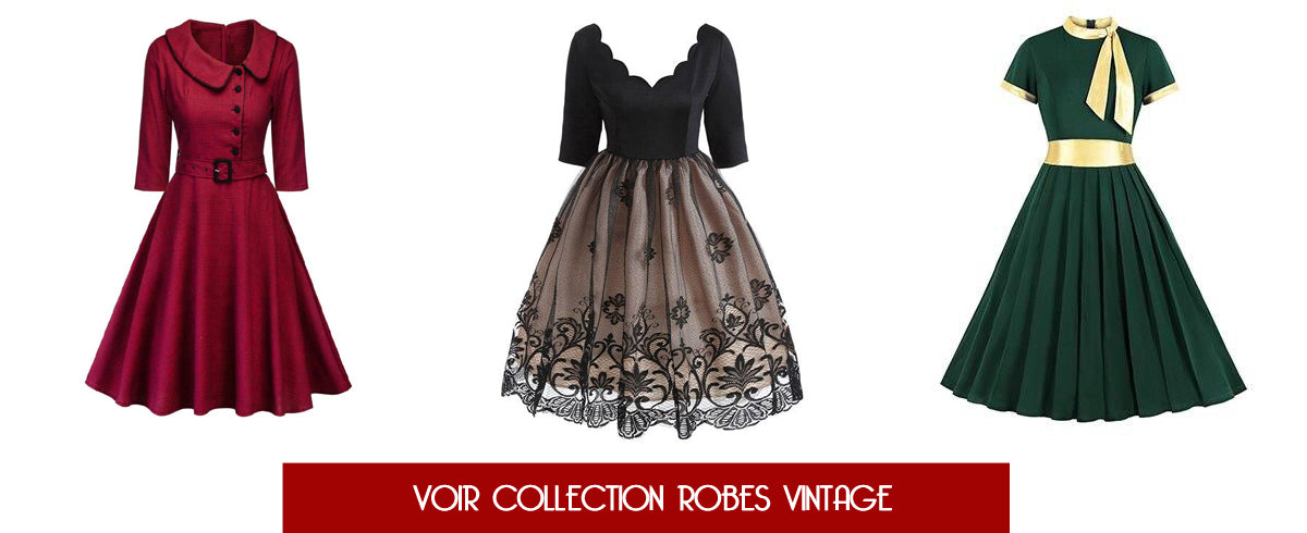 Collection robes vintage rétro Pin Up Girl