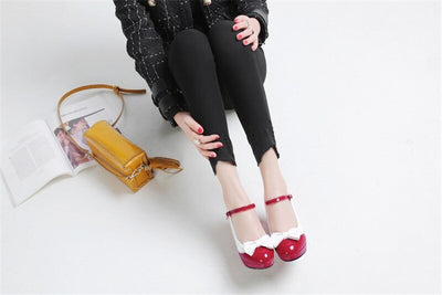 Chaussure Pin Up <br> Rouge