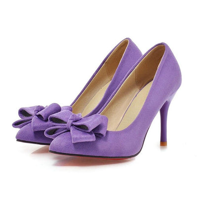 Chaussure pin up <br> Talon violet
