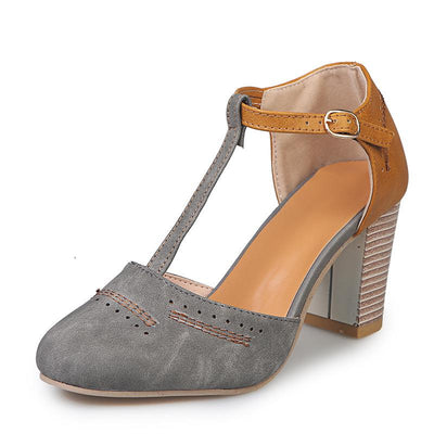Chaussure Pin up Gris