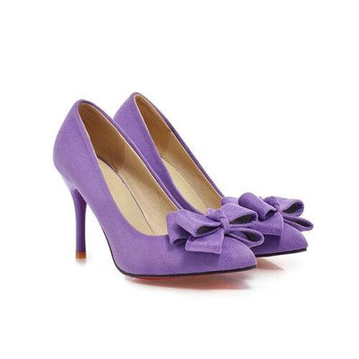 Chaussure pin up Talon violet