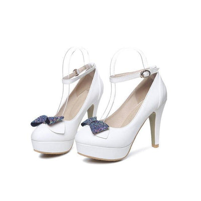 Chaussures Pin up  Blanche