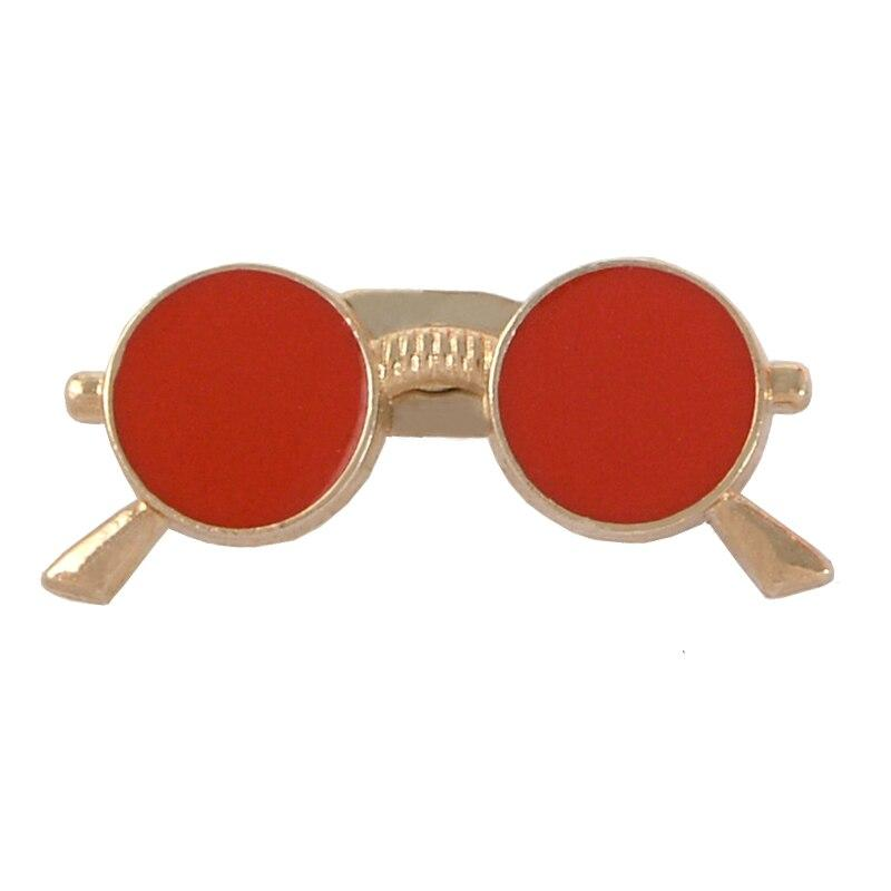 Pin's Vintage Lunettes rouge