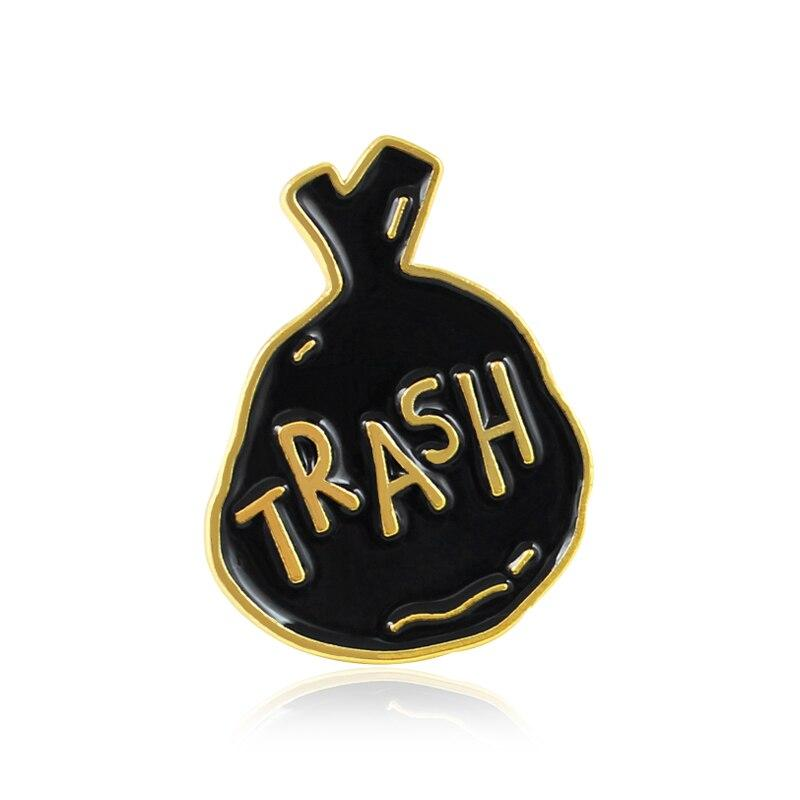 Pin's Vintage Sac trash