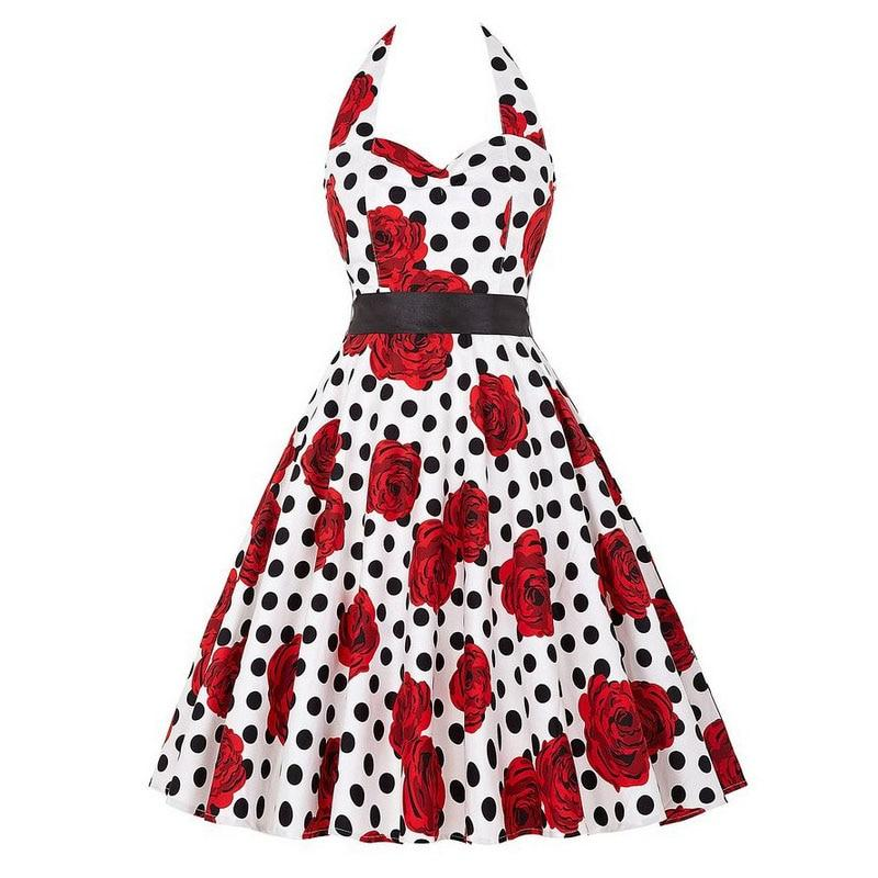 Robe pin up Rockabilly pas cher