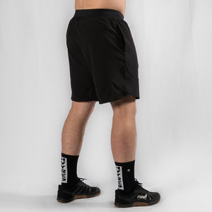 "MotionForce 3.0 Black / White 10"" Training Shorts"