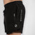 "MotionForce 3.0 Black / White 8"" Training Shorts"