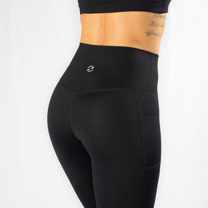 Nuluxe HVY REP Black / White Leggings