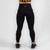 Nuluxe HVY REP Black / Mustard Leggings