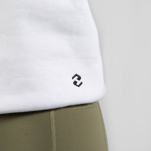 Team HVY REP White / Black Slimfit Hoodie