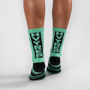 Vertigo HVY REP Neo Mint / Black Sock