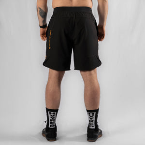 "MotionForce 3.0 Black / Mustard 10"" Training Shorts"