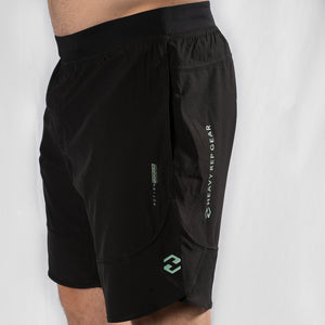 "MotionForce 3.0 Black / Neo Mint 10"" Training Shorts"