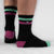Strike 2 Black / Neo Mint / Kiss Pink Sock
