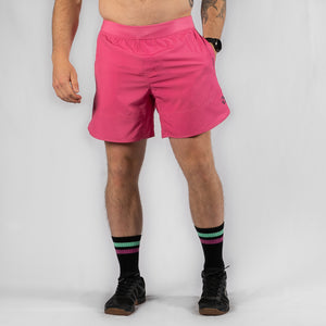 "MotionForce 3.0 Kiss Pink / Black 8"" Training Shorts"