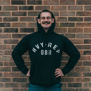 HVY REP GBR Performance Hoodie in Black