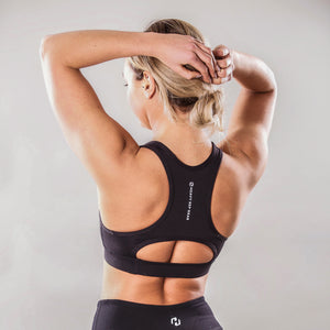 Aura Sports Bra Black