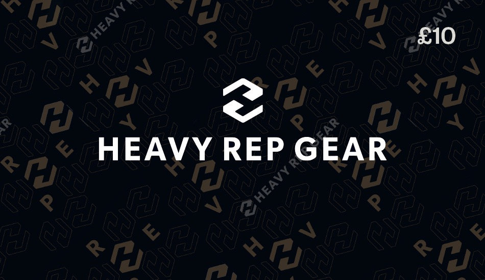 Heavy Rep Gear Gift Card