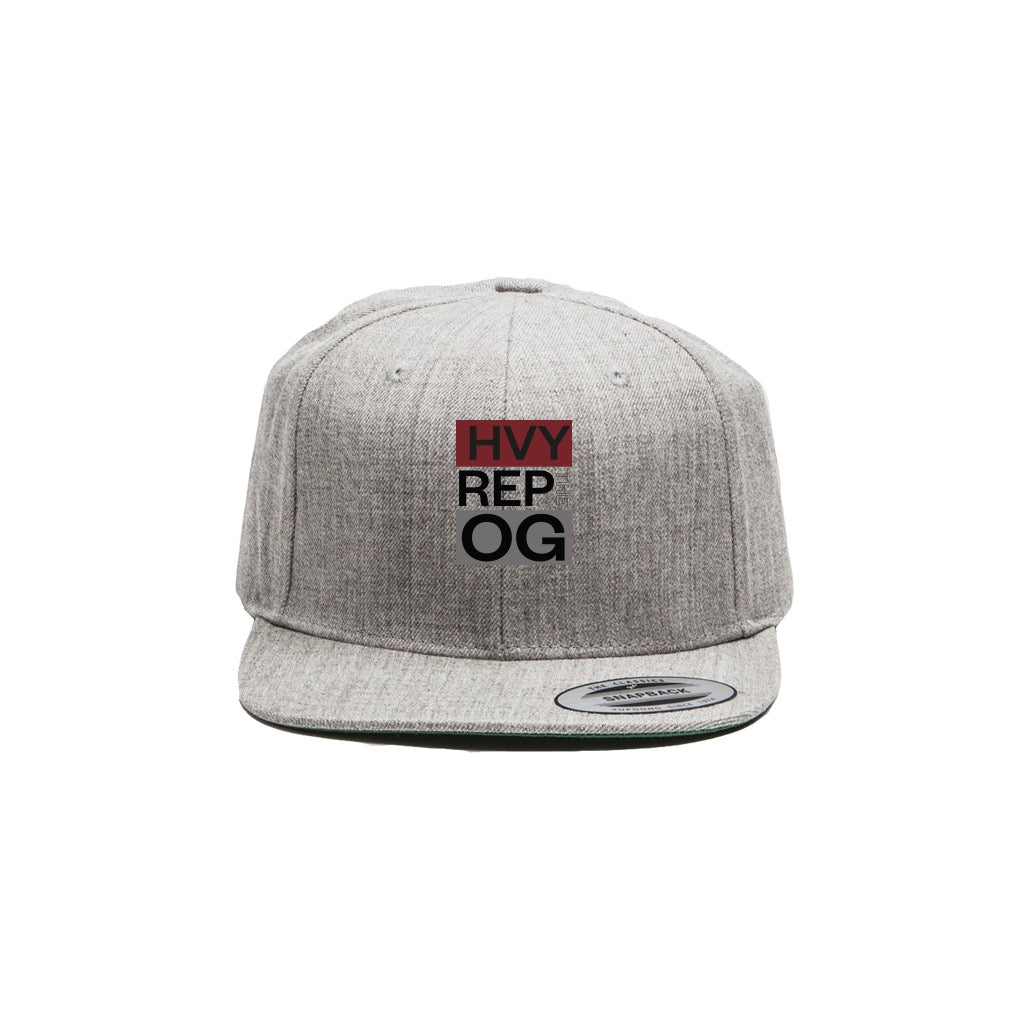 OG Classic Heather Grey Snapback