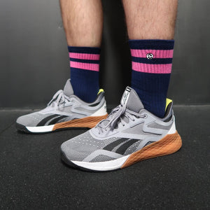 Strike 2 Navy / Kiss Pink Sock