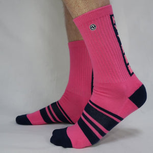 Vertigo HVY REP Kiss Pink / Navy Sock