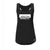 Athlete Active Tri Blend Black Racer Back Tank